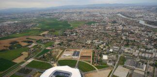 Decines (69): Le Parc Olympique Lyonnais