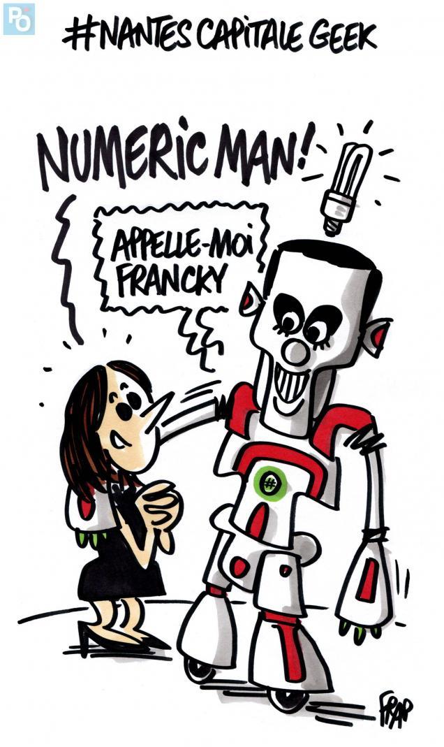 Nantes obtient le label French Tech le 13 novembre 2014 c FRAP-Presse Océan