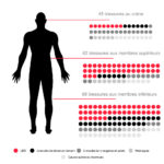 infographie blessures manifs nantes