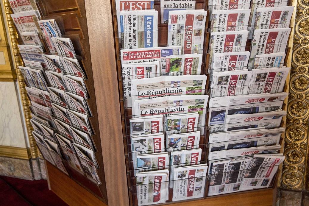 Ilustration de la presse quotidienne regionale