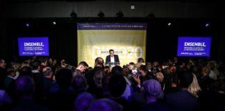 Meeting électorale de David Kimelfeld à Lyon