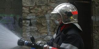 Pompiers une