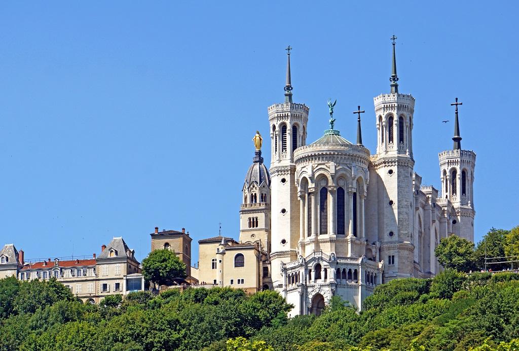 La basilique Notre-Dame-de-Fourvière / Photo : Dennis Jarvis CC