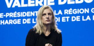 La vice-présidente de la région Grand Est, Valérie Debord, à la convention nationale Action Logement le 26 novembre 2019