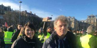 Karine Trottein et Fabien Roussel