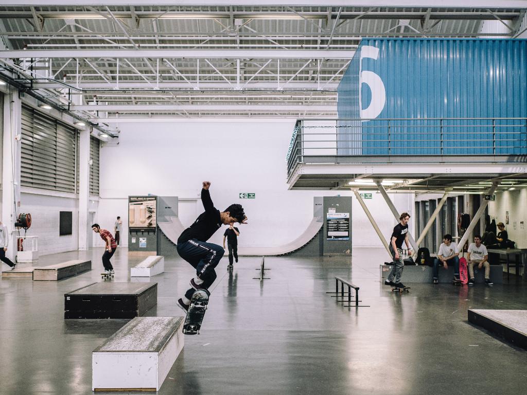 Salle de skate Fives