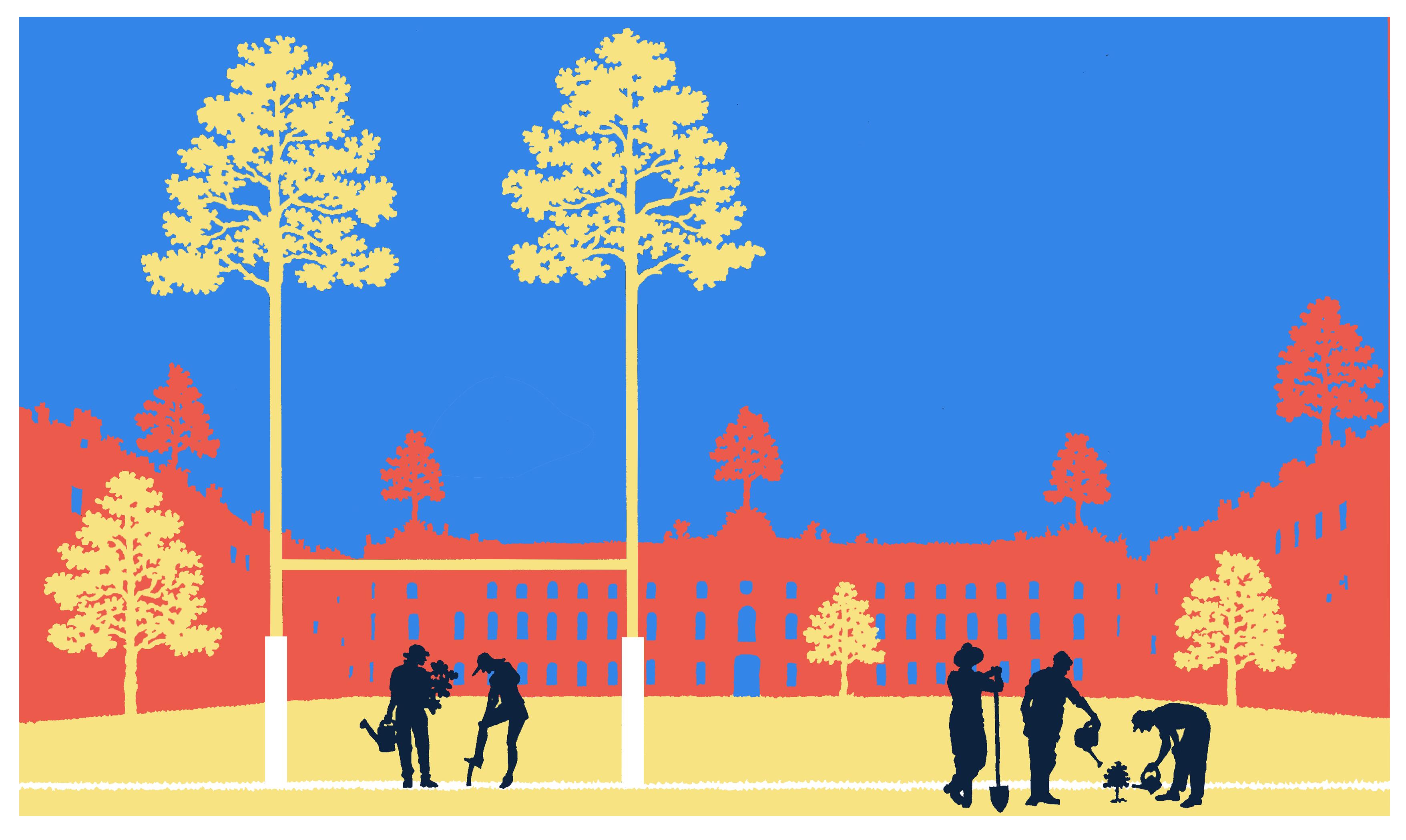 Des arbres partout à Toulouse