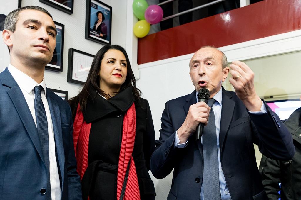 Lyon: gerard collomb municipal campaigns