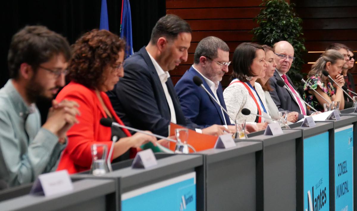 Johanna Rolland lors du conseil municipal dinstallation du 3 juillet 2020 (c) Thibault Dumas