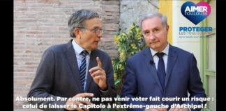 clip moudenc hors campagne