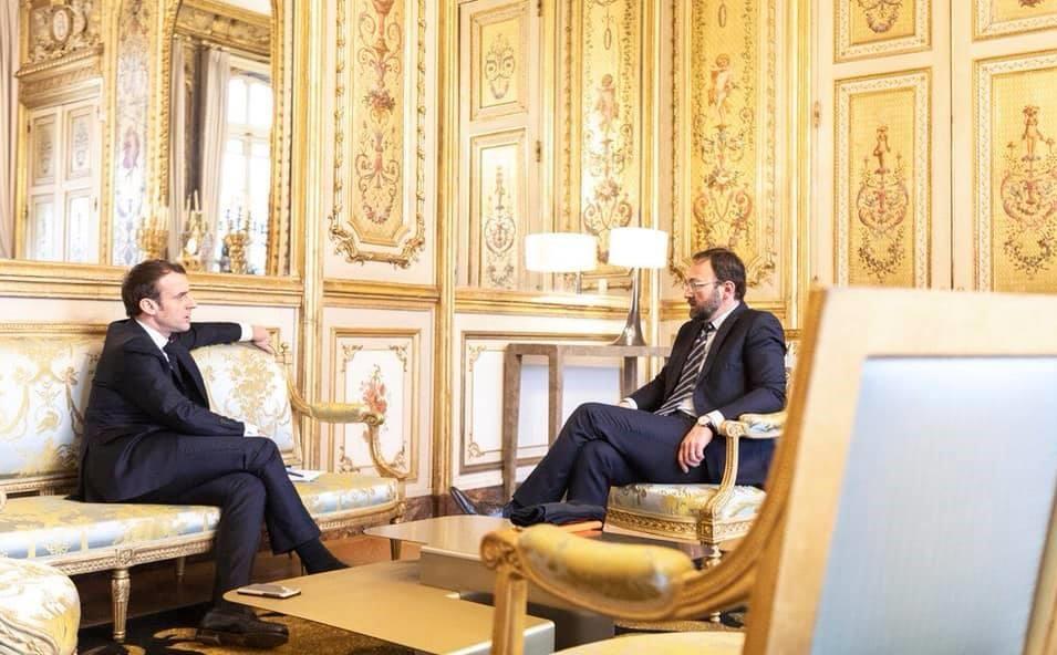 Mignola et Macron