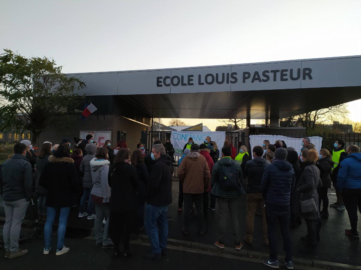 Manif Ecole Pasteur Lambersart