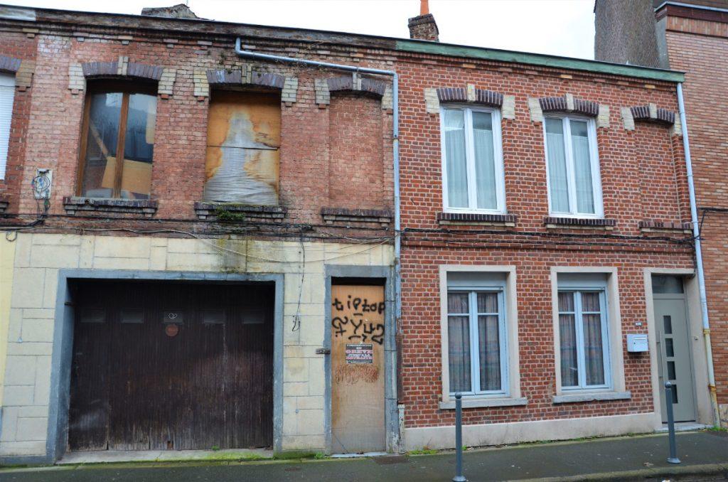Maison abandonnée Lille
