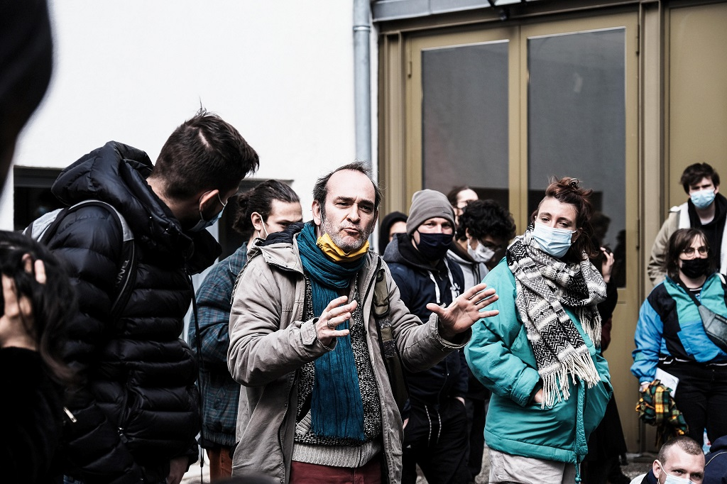 FRANCE – GENERAL ASSEMBLY OF THE OCCUPANTS OF THE THEATRE NATIONAL POPULAIRE OF VILLEURBANNE