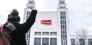 FRANCE – OCCUPATION OF THE THEATRE NATIONAL POPULAIRE IN VILLEURBANNE