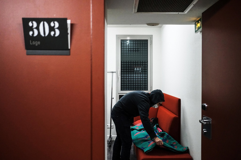 FRANCE – NIGHT OF OCCUPATION AT THE THEATRE NATIONAL POPULAIRE OF VILLEURBANNE