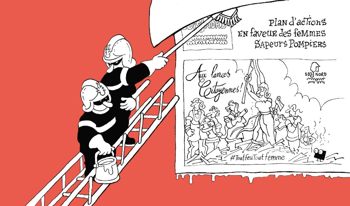 Affiche Pompier 3