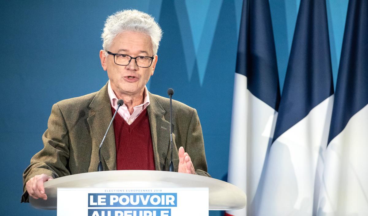Hervé Juvin Meeting élections européennes