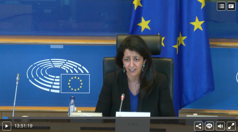 Karima Delli présidente Commission Transports