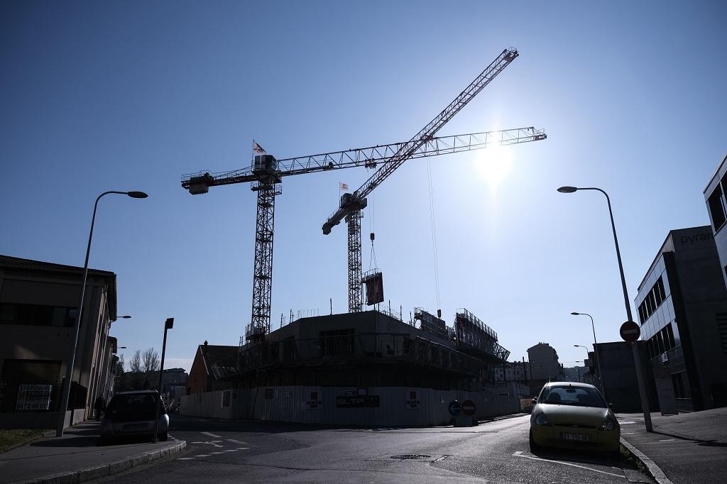 le chantier rue Laure Diebold