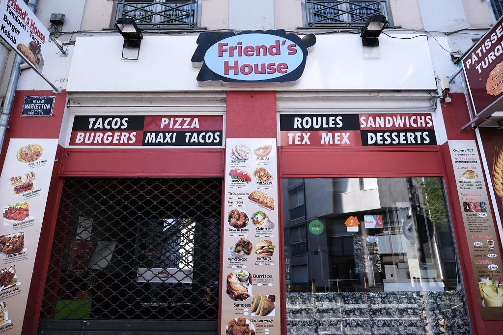 rue Marietton-restauration rapide