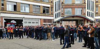 Grève Pompiers