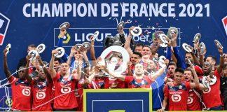 Titre champion Lille