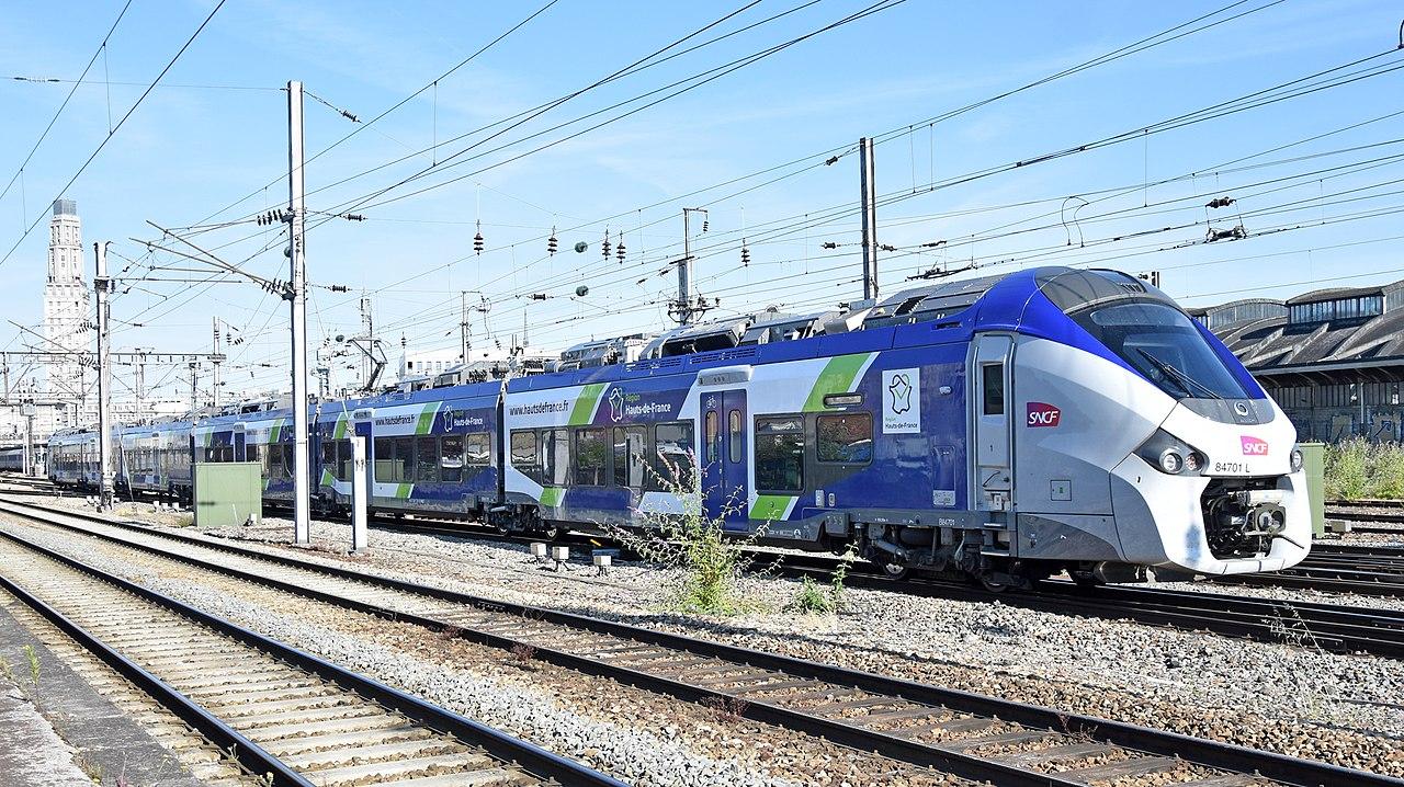 TER à Amiens en 2019