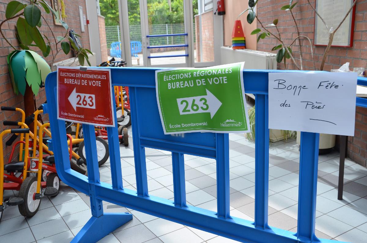 Eelections regionales et départementales Lille