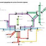 Les lots du reseau TER en P DL – source Région PDL