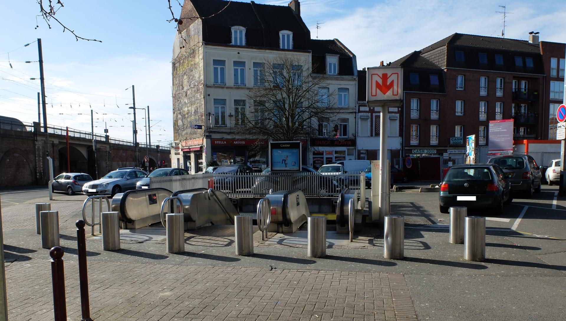 Metro Caulier Lille