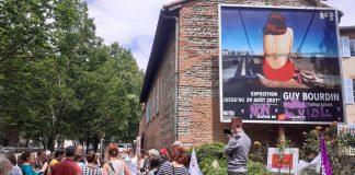 Photo manif musée de l'affiche