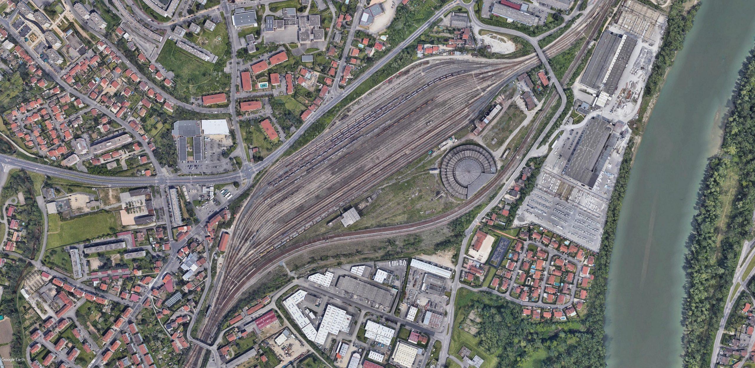 Gare de triage de Badan-Grigny