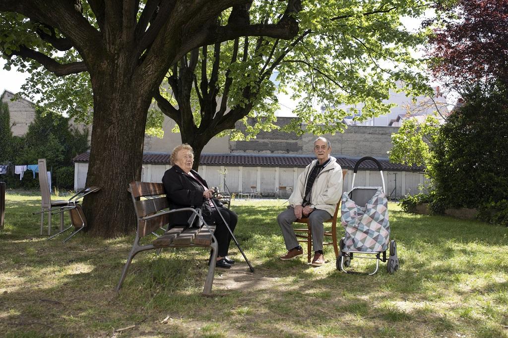 Jardin collectif de la résidence Pierre-Cacard