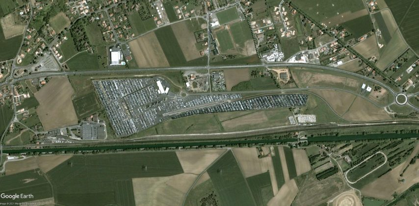 parking nord toulouse zoom 2002