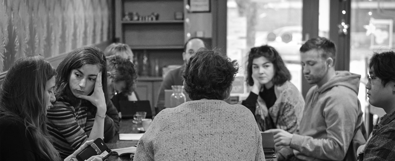 Photo de l'équipe de Mediacités à Lille